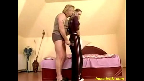 Old father fucks cute young daughter