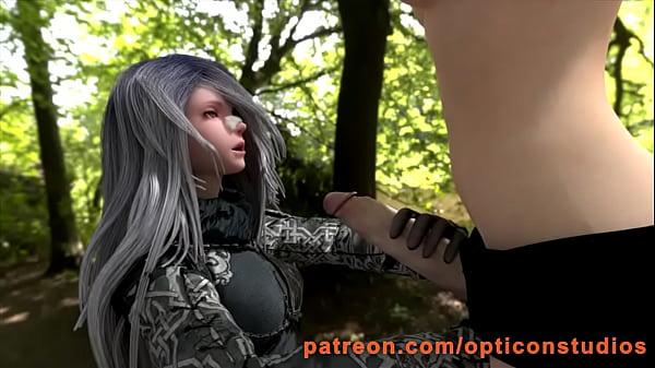 Женщина высасывает жидкость из влагалища подруги