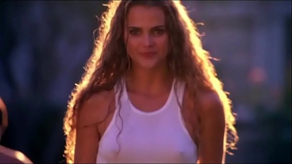 Keri Russell - Gets her top wet running through sprinklers - (uploaded by celebeclipse.com) Thumb