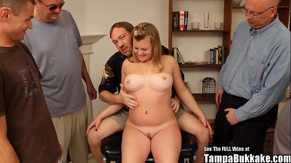 Short Blonde Perfect Natural Tits Big Ass Bukkake Babe