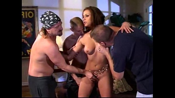 Nikita Denise Triple Teamed