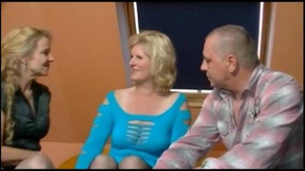 2 older german women and a guy having fun Thumb