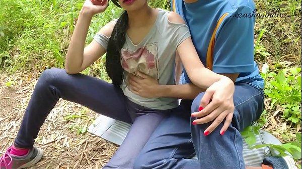 Her Juicy Pussy made me Cum in a Public Park. Ashavindi Thumb