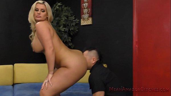 Julie Makes Her Wimp Husband Eat Her Ass- Julie Cash