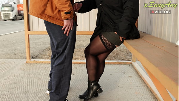 I love to get my dick in front of married strangers at the bus stop ... But I was in for a surprise!
