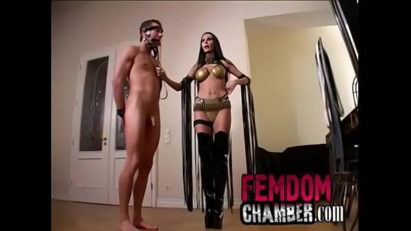 Femdom Male Slave Bondage