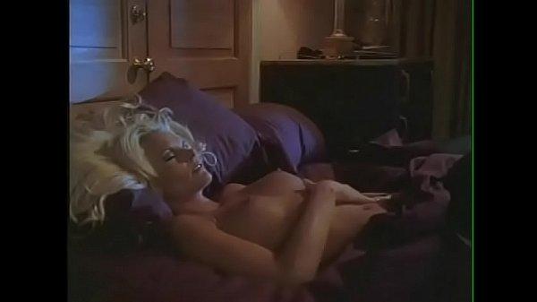 Beautiful fair-haired woman Katja Kean with big...