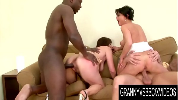 Granny Vs BBC - Interracial DP Foursome with Matures Marika Shine and Nicol