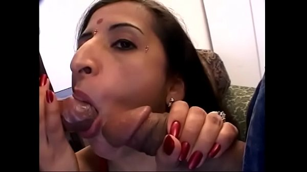 Two studs fuck indian bitch's shaved cunt and ass in interracial threesome Thumb