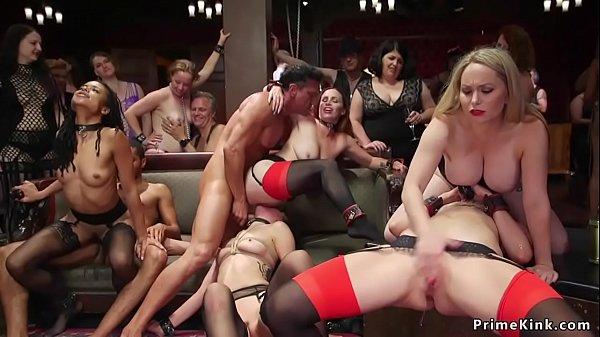 Interracial orgy bdsm anal fuck party Thumb