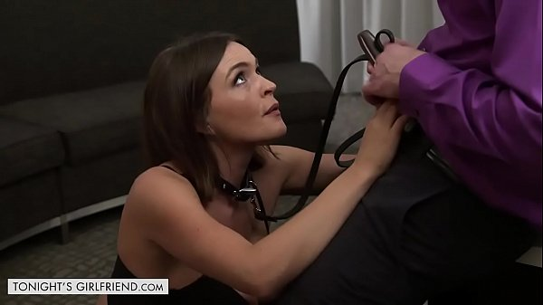 Sexy Brunette Krissy Lynn Lets Her Client Take Control Thumb