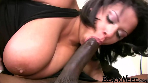 Step Mom Has Huge Tits And Likes Big Black Cock