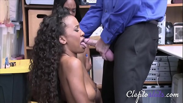 Ebony Girls Caught & Force Fucked By Cop For Stealing- Demi Sutra & Lala Ivey Thumb