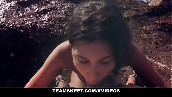 Risky Public Sex On the Beach with a Smoking Hot Latina Model Anya Krey Thumb