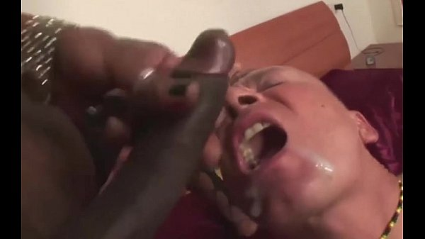 Black shemales cumming to guy`s mouths compilation