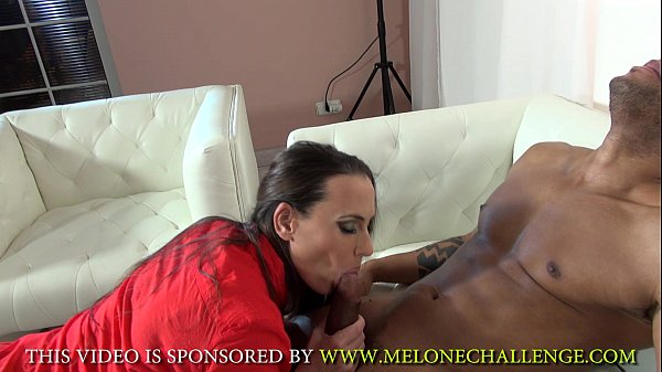Mea Melone & Wendy Moon ride extreme big black cock