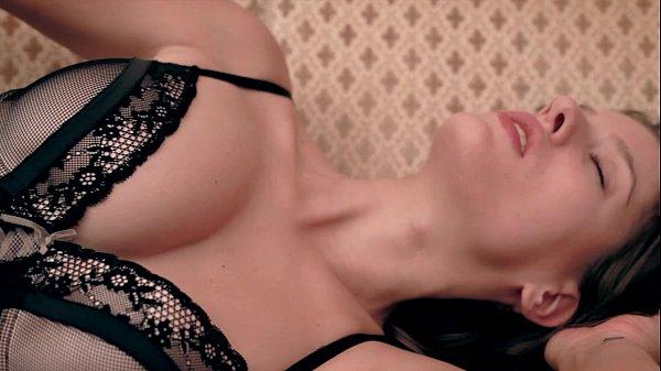 Cute brownhair babe in lingerie Silvie Luca in Elegant Seduction Thumb