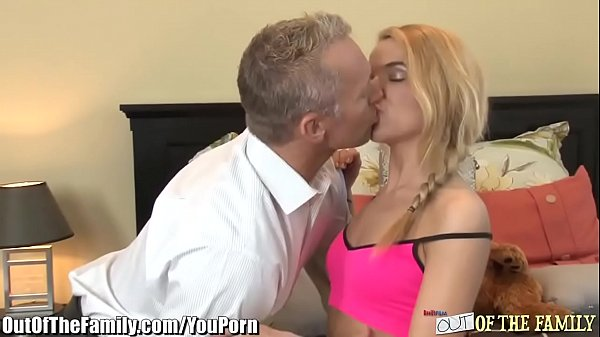 Step-Daddy gives College Daughter Anal Sex