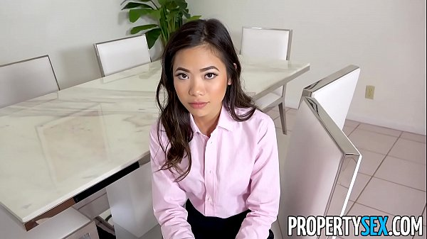 PropertySex - Hot petite Asian real estate agen...
