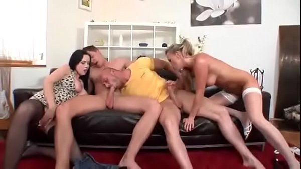 Ally Style And Christina Lee Have A Crazy Bi-Sexual Orgy