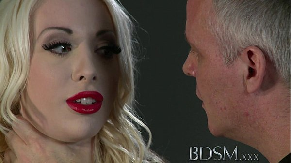 BDSM XXX Hooded slaves are put to the test by s...