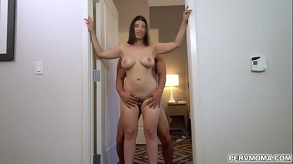 Big tits Latina mom lets stepson fuck her tight...