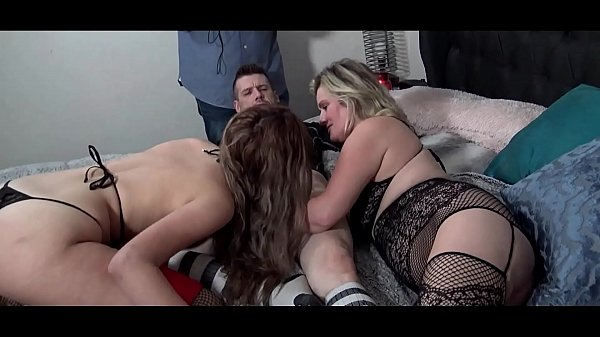 Horny amateur swingers having a foursome orgy