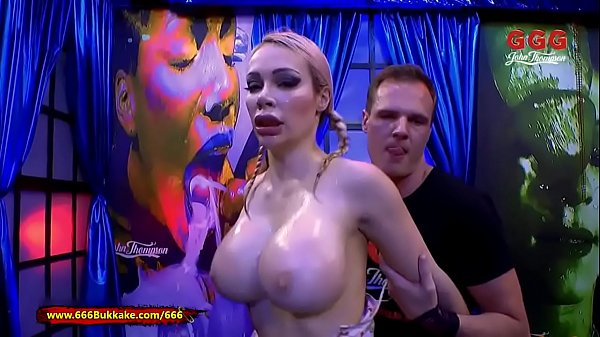 Chessie Kay Piss Covered Massive Tits - 666Bukkake Thumb