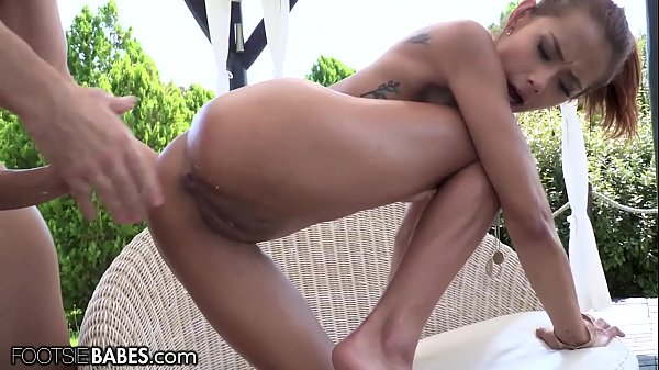 FootsieBabes Veronica Leal Is Anally Pounded Hard Outside With Cumshot Thumb