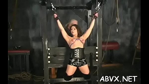 Bare chicks roughly playing in bondage xxx amateur clip Thumb