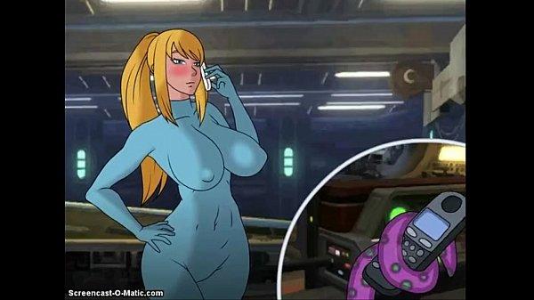 zero suit samus tentacle porn