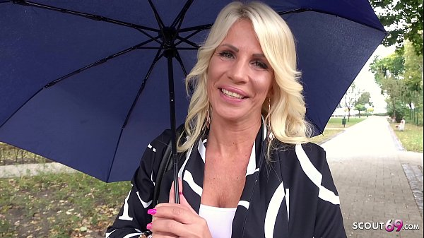 GERMAN SCOUT - Bombshell MILF Tiffany tricked t...