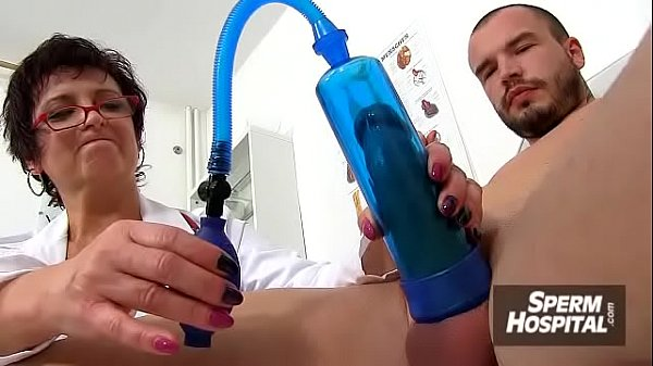 Sex and huge tits at hospital feat. dirty MILF doctor Silvy Vee Thumb