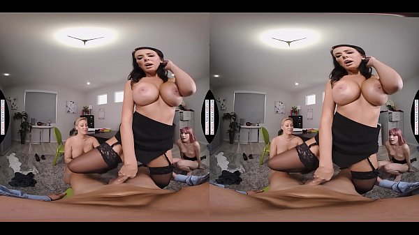 Naughty America Interns fuck their bosses in this naughty office