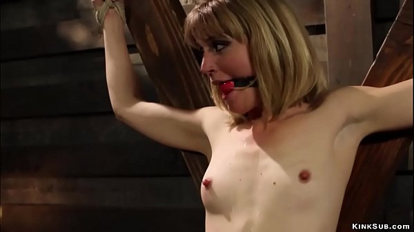 Bound lesbian is spanked and paddled Thumb