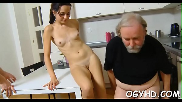 Old guy bangs young pussy Thumb