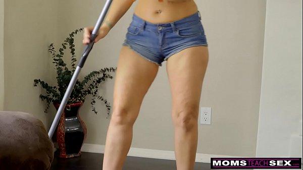 MomsTeachSex - Slutty MILF Makes StepSon Cum Inside! S8:E10