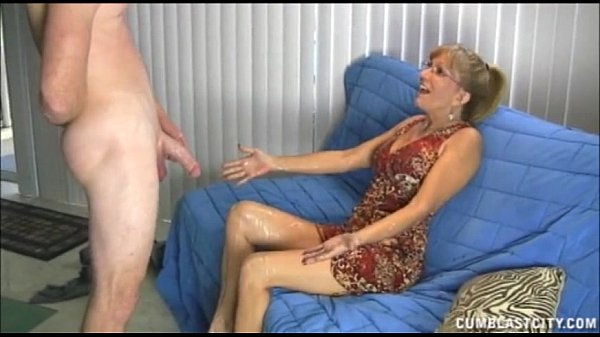 Naughty Mature Lady Gets A Cumblast Thumb