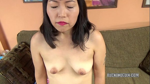 Asian slut Yuka Ozaki is on her knees and sucking dick Thumb