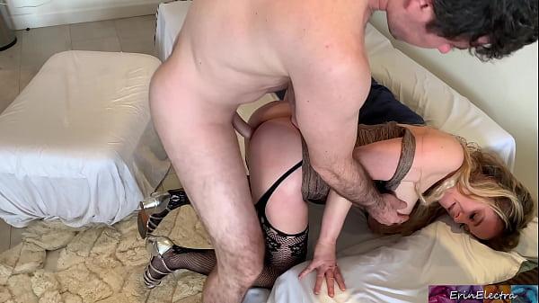 Stepmom cures stepson's porn addiction - Erin Electra Thumb