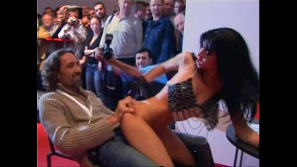 Rebeca Linares Fucked by two men by kikinho10