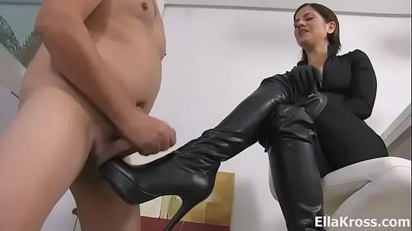 Mistress Ella Kross Present:Your Cock Belongs To My Boots