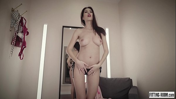 Hottie Czech Paula Shy fingers her pussy hard wearing micro bikini Thumb