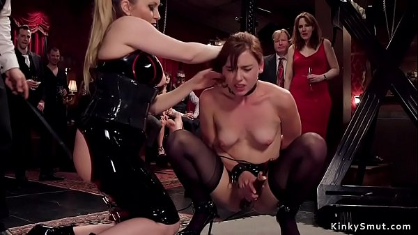 Governess Aiden Starr makes slave anal