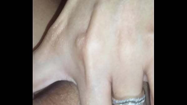 Fisting my wife while she uses vibrator