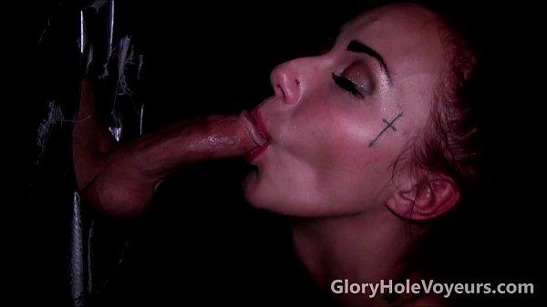Gloryhole Blowjob Cum Shot Compilation