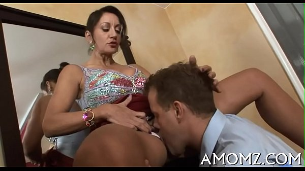 Hot mamma is fingered and screwed