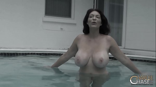 Underwater Cock Teasing with Big TIt MILF Charl...