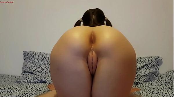 Loving her Ass Thumb