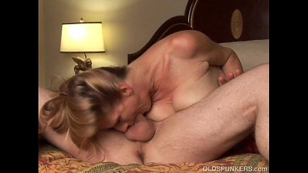 Trashy old spunker loves to suck cock and the taste of cum